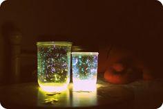 WhiMSy love: Glowstick lanterns