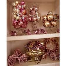 shabby chic christmas decorations - Google Search