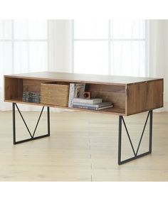 Mindy Lahiri's desk from The Mindy Project   Hendrix Desk   Crate and Barrel