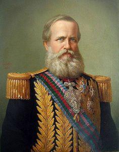 O Patrono | CBMRS - DOM PEDRO II – O PATRONO DOS CORPOS DE BOMBEIROS DO BRASIL Dom Pedro II (1825-1891) foi o segundo e último Imperador do Brasil. Tornou-se príncipe regente aos seis anos de idade, quando seu pai Dom Pedro I, abdicou do trono. José Bonifácio de Andrada e Silva foi nomeado seu tutor e depois foi substituído por Manuel Inácio de Andrade Souto Maior Pinto Coelho. Aos 15 anos foi declarado maior e coroado Imperador do Brasil.