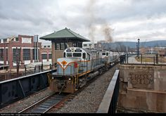 RailPictures.Net Photo: DL 405 Delaware Lackawanna Alco C420 at Scranton, Pennsylvania by Robert Pisani