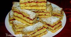 Mennyei Érsek szelet recept! Gyors,finom sütemény.