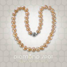 perly - Tahitské a sladkovodní perly - Zlatnictví Diamond Spot, Praha 1 Pearl Necklace, Pearls, Diamond, Jewelry, String Of Pearls, Jewlery, Jewerly, Beads, Schmuck