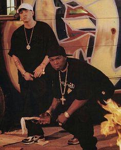Eminem and 50 Cent