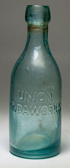 Union Blob Soda Bottle, Tombstone, Arizona (1881)
