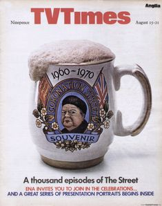 So much more than TV times Coronation Street, Tv Times, Tv Guide, Tvs, Magazine Covers, Britain, Magazines, 1970s, Nostalgia