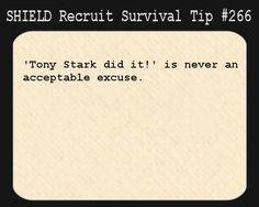 SHIELD Survival Tip#266