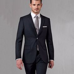 Black Business Men Suits Custom Made, Bespoke Classic Black Wedding Suits For Men, Tailor Made Groom Suit  WOOL Tuxedos For Men    men suits |men suits style |men suits style fashion |    #mensfashion #mensstyle #menswear