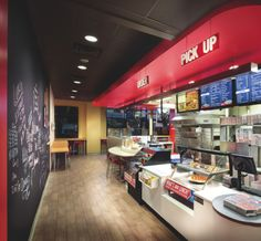 Domino 39 S Pizza 39 Pizza Theater 39 Bar Cafe Design Interiors Pinterest Pizza Pizza And Bar