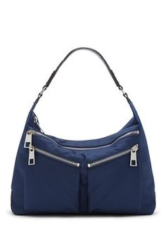 Ceila Nylon Hobo Bag