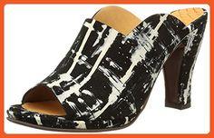 Chie Mihara Women's Freixa Dress Sandal, Black, 36.5 EU/6.5 M US - Sandals for women (*Amazon Partner-Link)