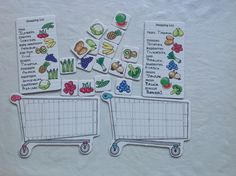 Cute idea for food unit Life Skills Activities, Autism Activities, Toddler Learning Activities, Preschool At Home, Free Preschool, Elementary Spanish Classroom, 1st Grade Centers, French Worksheets, Childhood Education