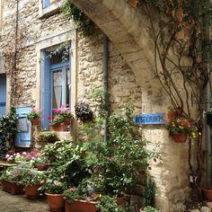 "Small hidden restaurant La Bouche. Provance""...our next big trip .........I hope!!!!"