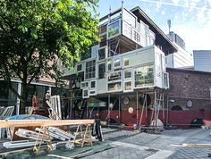 His latest work is the amazing Bow-House in the Netherlands, which is designed as an open shelter where anyone can temporarily live, free of charge.