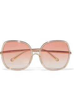 43fe978018e Chloé - Nate square-frame acetate sunglasses