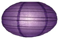 "16"" Dark Purple Saturn Paper Lantern by Asian Import Store, Inc.. $4.50. (All lanterns sold without lighting, lighting kits must be purchased separately). Lantern is held open with a wire expander.. This Saturn paper lantern has a unique UFO shape.. Dimensions: 16"" dia x 9""H. This Saturn paper lantern has a unique UFO shape. Lantern is held open with a ""C"" hook expander.  Dimensions: 16"" dia x 9""H  (All lanterns sold without lighting, lighting kits must be purchased s..."