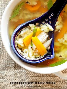 cold fall weather, the flu - its chicken soup season!