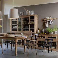 afbeelding Rechthoekige tafel met verlengstukken Germaine AM.PM.