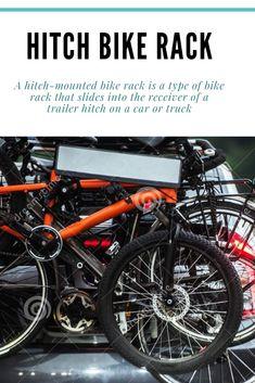 #BestHitchBikeRack Best Bike Rack, Diy Bike Rack, Hitch Mount Bike Rack, Car Buying Guide, Bike Parking, Trailer Hitch, Cool Bikes