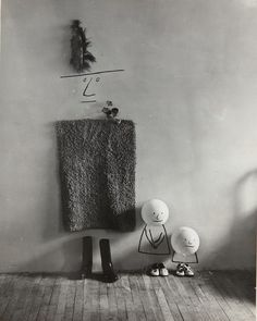 Mother and Children, 1950, Saul Steinberg