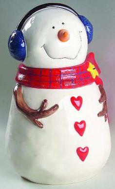 *SNOWMAN ~ Cookie jar
