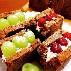 Best Sweets, Chiffon Cake, Mochi, Food To Make, Sandwiches, Meals, Desserts, Foods, Recipes