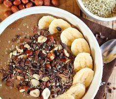 Smoothie Bowl: Chocolate Hazelnut Hemp