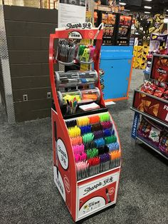 Sharpie Free Standing Unit - Looking to get noticed with your point of sale display in a busy, fast-paced retail environment? Increase confidence in your sales with www.popthis.com.au