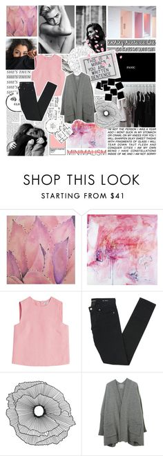 """""""we find art in those who are most broken by life"""" by fashionisall12 ❤ liked on Polyvore featuring Ren-Wil, Amy Cannady, Strange Days, Valentino, Yves Saint Laurent and Home Decorators Collection"""
