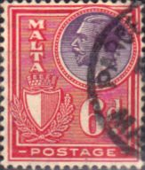 Malta 1926 King George V SG 165 Fine Used Scott 140 Other Malta Stamps HERE