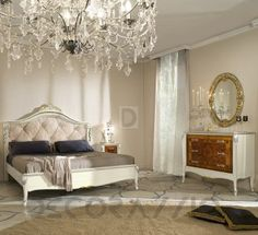 #bed #furniture #furnishings #design #interior #interiordesign #decoration  комплект в спальню Modenese Gastone Contemporary, mg-brs-18