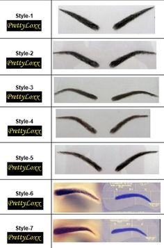Pretty Loxx Human Hair Eyebrows With Adhesive and Eyelashes style 9 False Eyebrows, False Eyelashes, How To Remove Adhesive, Brow Shaping, Hair Strand, Eyebrow Pencil, Woman Face, Face Shapes, Human Hair Wigs