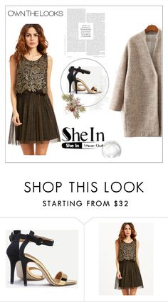"""""""SheIn 10/VII"""" by hedija-okanovic ❤ liked on Polyvore featuring shein"""