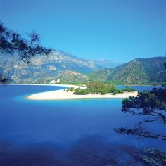 Olu Deniz (Dead Sea) near Fethiye - Turkey, a serene lagoon beach with turquoise waters . Places Around The World, The Places Youll Go, Cool Places To Visit, Places To Travel, Around The Worlds, Most Beautiful Beaches, Beautiful Places, Beautiful Scenery, Beautiful Sunset