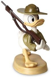 WDCC Donald Duck Basic Training Donald Gets Drafted - 4004674 From the Donald Gets Drafted Walt Disney Classics Collection