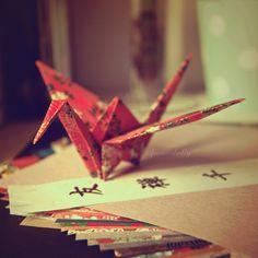 Paper Crane by FrancesHolly