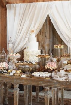 Assorted Dessert Table #EasyNip