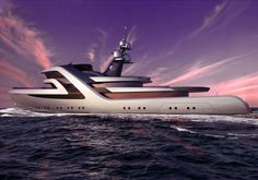 UK-based designer Andy Waugh presented the Blommendal 65 superyacht concept that represents a radical refit project based on an existing explorer hull and platform.