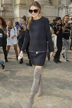 Olivia Palermo style and fashion pictures (Vogue.com UK)