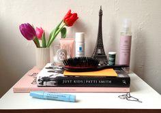 Beauty on my bedside table