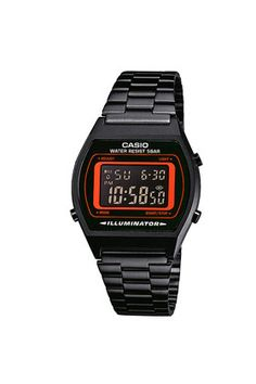 **Casio Classic Black and Red Digital Watch