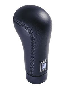Nardi Gear Shift (Shifter) Knob - Prestige -Black Leather
