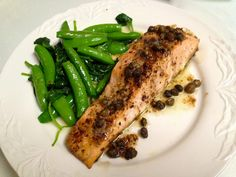 C H E W I N G T H E F A T: Melissa Clark's Salmon with Anchovy-Garlic Butter