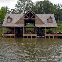Mariah pinned this Boat Dock & PatioBoat Dock