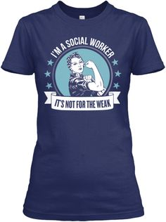 I need this! Two of my favorite things, Rosie the riveter and Social Work.