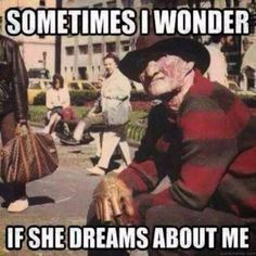 gif my gifs mine Black and White movies horror freddy krueger horror movie a nightmare on elm street a nightmare on elm street 1984 Dark Beauty, Scary Movies, Horror Movies, Horror Art, Scary Movie Memes, Horror Movie Quotes, Funny Halloween Memes, Dream About Me, Funny Horror