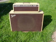 vintage fender showman | Vintage 1961 Fender Showman Amplifier W/15″ Jensen Spkr | Fender ...