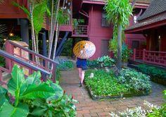 Jim Thompson house. Thailand, Bangkok