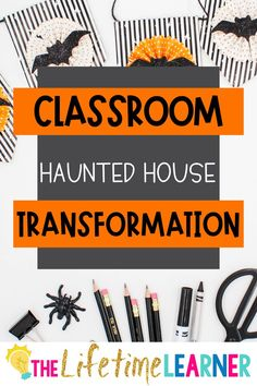 Check out this fun Halloween classroom transformation theme for elementary students in first, second, third, fourth, fifth grade. This haunted house room transformation will set the stage to engage and is stress-free! It's a worksheet or escape room alternative, and can be used in small groups or partners. 1st, 2nd, 3rd, 4th, 5th graders enjoy classroom transformation ideas. Digital and printables for kids (Year 1,2,3,4,5) #setthestagetoengage #classroomtransformation #mathactivities