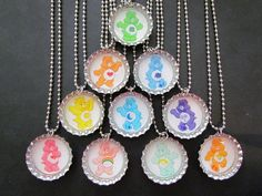 Care Bears party Favors Bottle Cap Party by PartyFavorsbyPalz